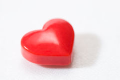 Single Heart Shaped Candy Stock Images