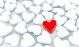 Single heart Royalty Free Stock Images