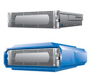 Single Hosting server. Server for web hosting business Stock Images