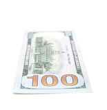 Single hundred dollar note Stock Photo