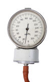 Single indicator for retro sphygmomanometer Royalty Free Stock Photography