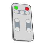 Single infrared remote control for media center Royalty Free Stock Photos