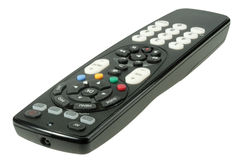Single infrared universal remote control Royalty Free Stock Image