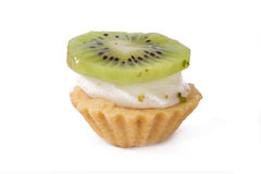 Single Kiwi Tasty Cake Royalty Free Stock Photos