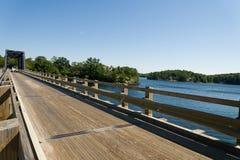 Single lane bridge Royalty Free Stock Photo