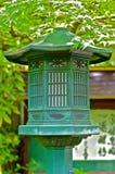 Single Lantern in a Shinto Temple Stock Photos