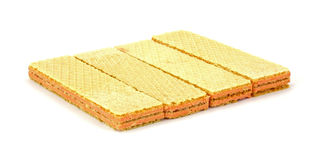 Single Layer Sugar Wafers Royalty Free Stock Image