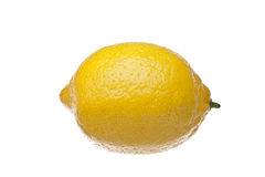 Single lemon Stock Photo