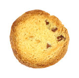 Single lemon almond cookie Royalty Free Stock Image