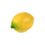 Single lemon isolated Stock Photos