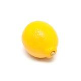 Single lemon isolated on white background Royalty Free Stock Photo
