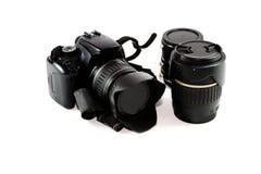 Single Lens Reflex Camera Royalty Free Stock Images