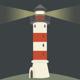 Single lighthouse Royalty Free Stock Images