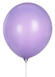 Single lilac Balloon Isolated On White Background Royalty Free Stock Photos