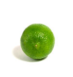 Single lime Royalty Free Stock Images