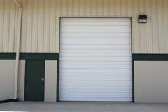 Single loading dock for trucks Stock Photography