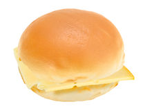 Single loaf of roll with cheese Royalty Free Stock Photography