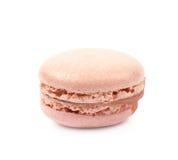 Single macaron cookie isolated Royalty Free Stock Photos