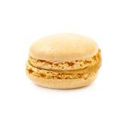 Single macaron cookie isolated Stock Photo