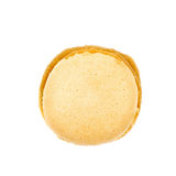 Single macaron cookie isolated Stock Images