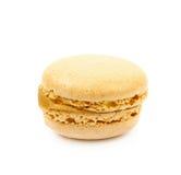 Single macaron cookie isolated Royalty Free Stock Image