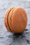 Single macaroon biscuit Stock Photography