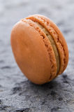 Single macaroon biscuit Royalty Free Stock Image