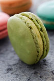 Single macaroon biscuit Royalty Free Stock Images