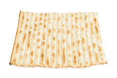 Single machine made matza flatbread Royalty Free Stock Images