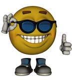 Single Male Emoticon Royalty Free Stock Photo