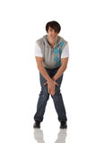 Single male tap dancer royalty free stock photos