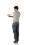 Single male tap dancer Stock Photos