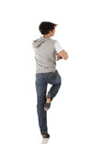Single male tap dancer royalty free stock image