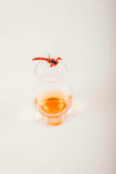 Single malt tasting glass with scorpion, single malt whisky in a Stock Photos