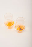 Single malt tasting glass with scorpion, single malt whisky in a Royalty Free Stock Images