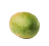 Single mango fruit isolated Royalty Free Stock Images