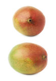 Single mango fruit isolated Stock Photos