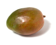 Single mango isolated on white background Stock Image