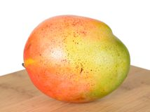 Single mango Royalty Free Stock Photography