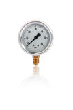 Single manometer isolated Stock Photos