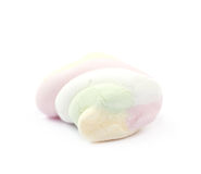 Single marshmallow candy Stock Image