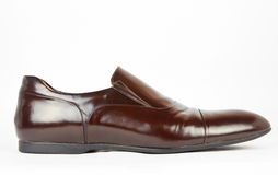SINGLE MEN SHOES Royalty Free Stock Photo