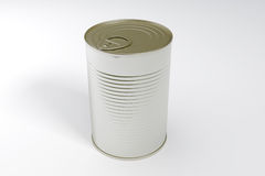 A single metal can Stock Photos