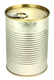 Single metal can Stock Photography