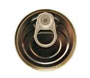 Single metal can Royalty Free Stock Photography