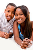 Single mother with her son Royalty Free Stock Photo