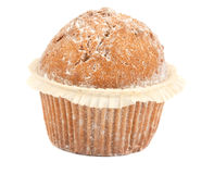 Single muffin Royalty Free Stock Photography