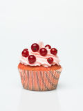 Single muffin isolated Stock Images