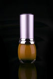 Single nail polish Stock Image
