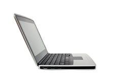 Single netbook (laptop) Royalty Free Stock Images